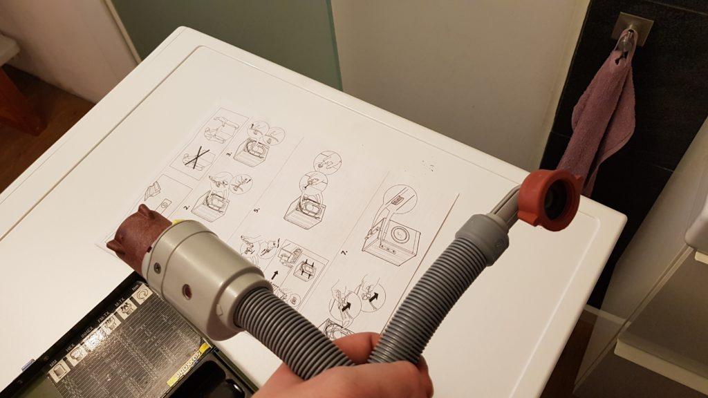 Wasseranschluss-Schlauch - Bauknecht WM Sense 8G43PS